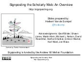 Interoperability for web based scholarship