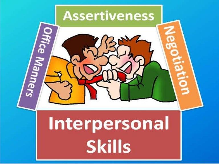 what interpersonal skills