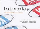 (*EPUB)->Read Interplay: The Process of Interpersonal Communication By Ronald B. Adler Book On Kindle