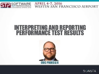 Interpreting Performance Test Results