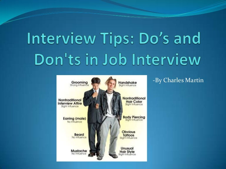 Interview tips dos and donts in interview toneelgroepblik Images