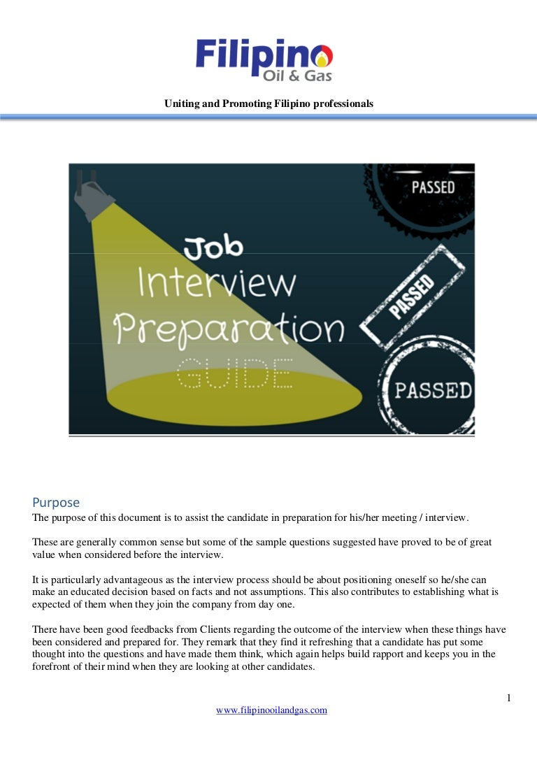 interview preparation guide
