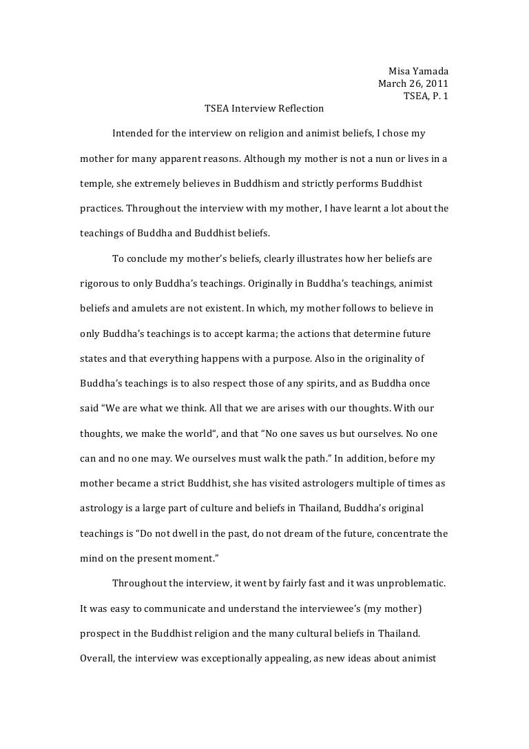 buddhism essay broadsheet and tabloid essays theravada buddhism  interview reflection