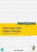 Interview With Gábor Margés