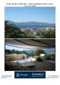 In The Heart Of Californie, Superb Apartment With Sea View from CANNES