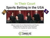IN THEIR COURT: The 9 Best Quotes About the SCOTUS Decision on Sports Betting