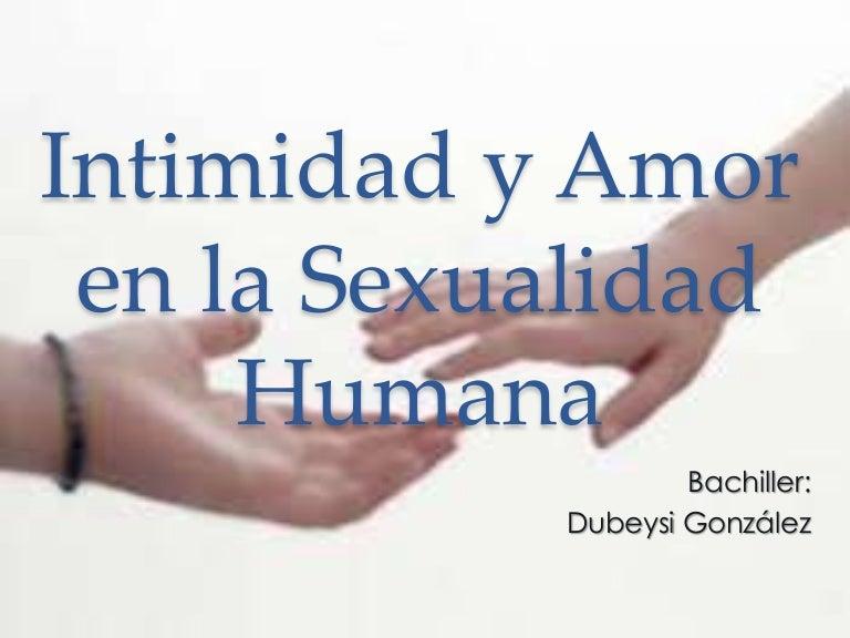 importancia del estudio de la sexualidad humana