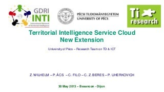 INTI 13 - Territorial Intelligence Service Cloud New Extension