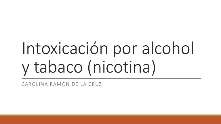 intoxicación por alcohol y diabetes