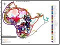 Intra Africa Fibre Fiber Map