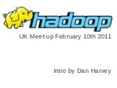 Overview of Hadoop in 2010 and what's coming up in 2011