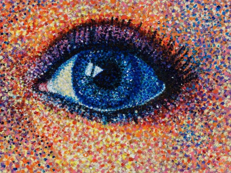 Pointillism To Paint By Number