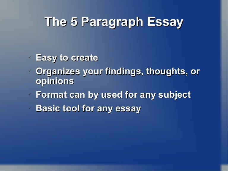 5 paragraph essay models How to write a Five paragraph Essay - Outline, Structure, Format, Examples, Topics