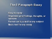 Thesis statement location