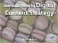 Introduction to Digital Content Strategy
