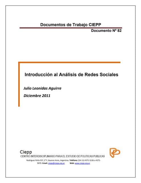 Introduccion al analisis_de_redes_social
