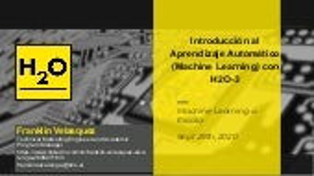Introducción al Aprendizaje Automatico con H2O-3 (1)