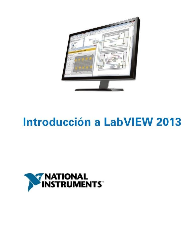 Introduccion a Ni labview 2013