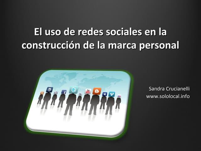 Introducción al Uso de Redes Sociales y Marca Personal