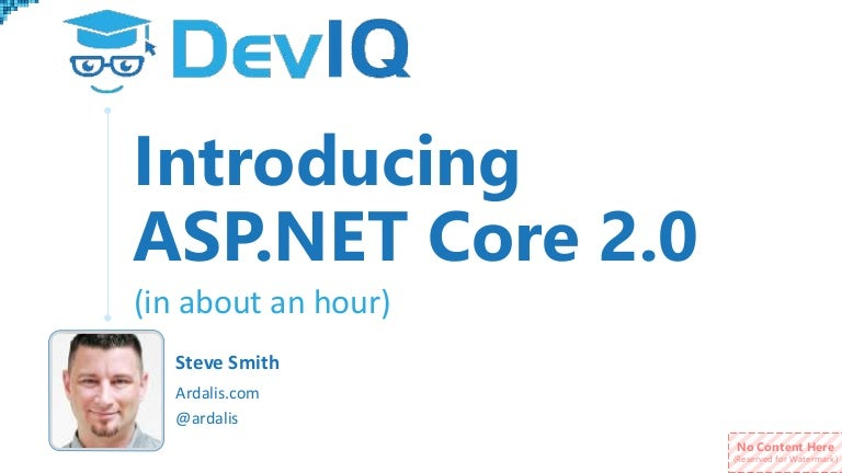 Introducing ASP NET Core 2 0