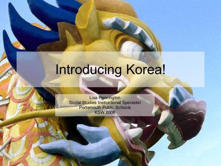 Introducing Korea!