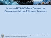 Introduction to GETSI-Field Guiding Principles