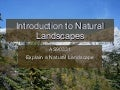Introduction to Natural Landscapes