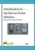 INTRODUCTION TO MOBEE INDONESIA ON DEVICE PORTAL (ODP)