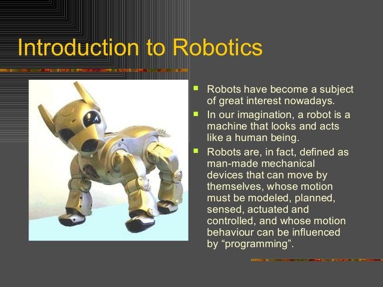 Robot Thesis Pdf