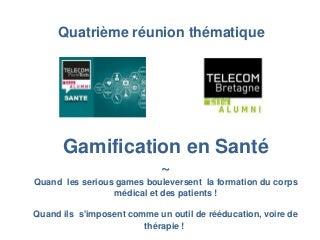 Gamification en santé