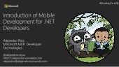 Introduction of Mobile Development