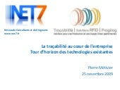 Introduction aux Technologies de la Tracabilite