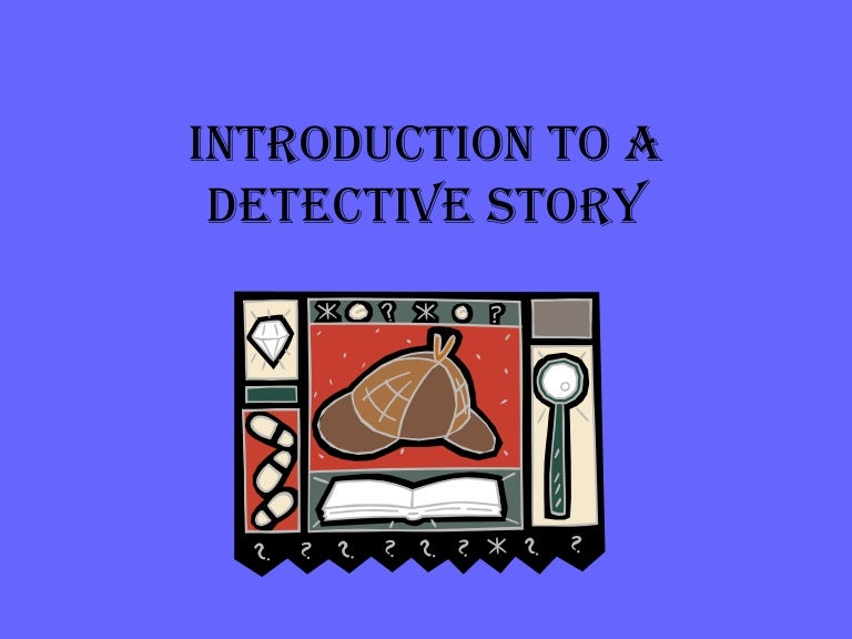 what makes a good detective