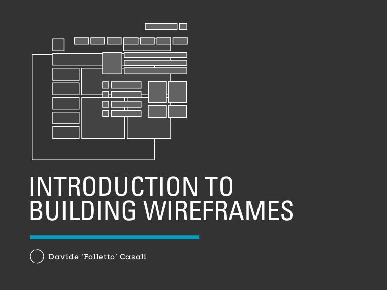 building a wireframe