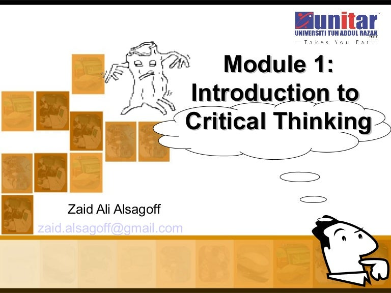 critical thinking in business writing ppt