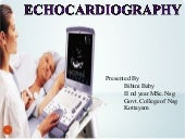 Introduction to echocardiography