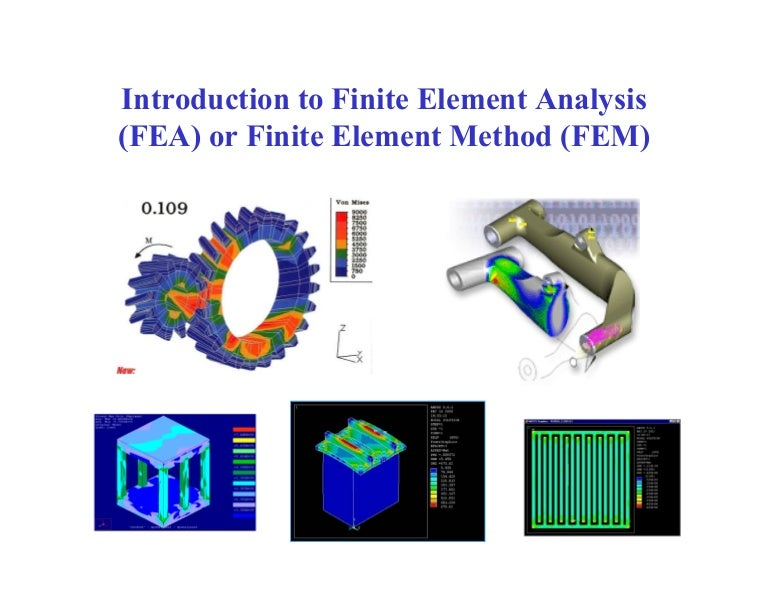 Finite Element Methods in CAD: Electrical and Magnetic Fields