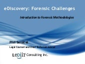 Introduction To Forensic Methodologies