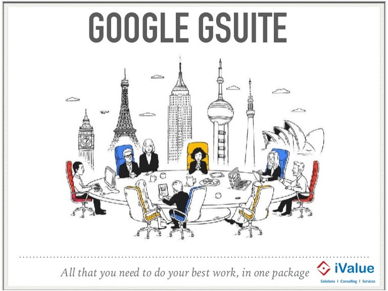Introduction to Google Gsuite