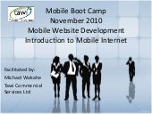 Introduction to Mobile Internet