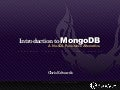 Updated Introduction to MongoDB