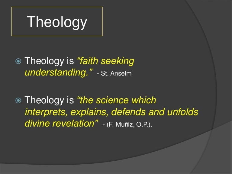 Introduction to moral theology