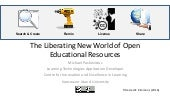 Introduction to Open Educational Resources for New Teachers
