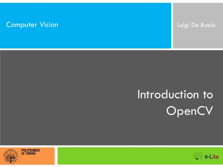 Introduction to OpenCV (with Java)
