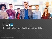 An Introduction to Recruiter Lite
