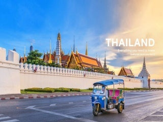 Introduction to thailand