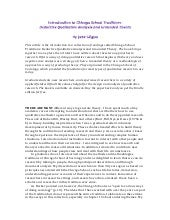Introduction; Chicago School Traditions: Deductive Qualitative Analysis and Grounded Theory