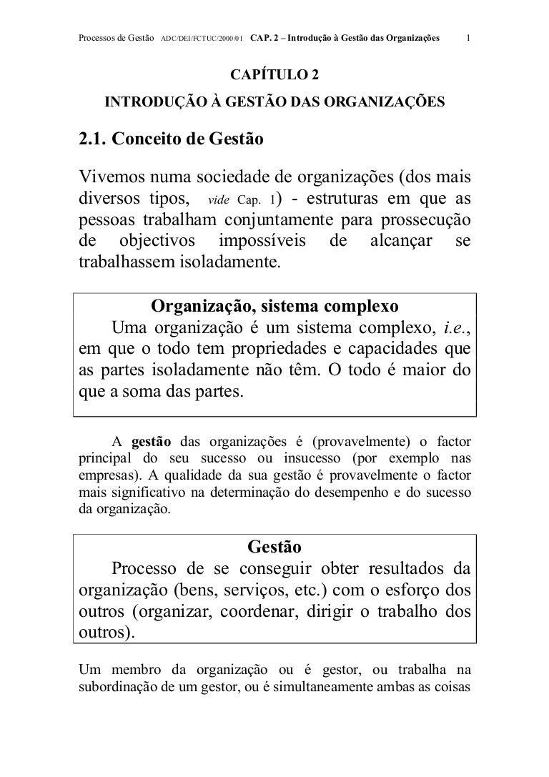 11e1d4bb2d Introdução à gestão das organizações