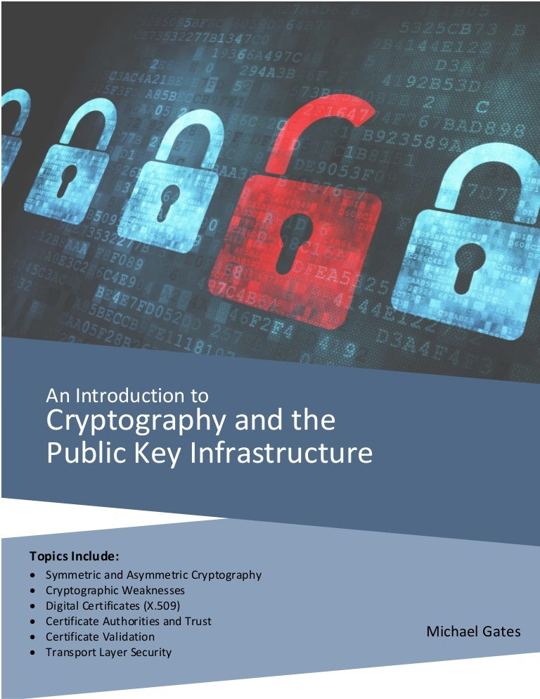 Introduction to Cryptography and the Public