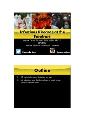 Intro to Infectious Diseases and Epidemiology of Nosocomial Infection